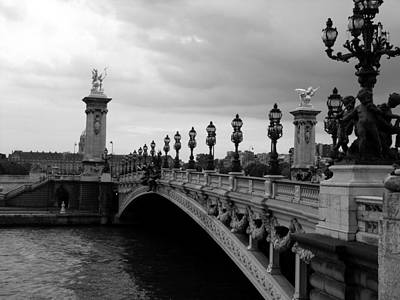 Poster featuring the photograph Pont Alexander by Lisa Parrish