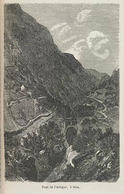 Pont De L' Artigue Poster by British Library