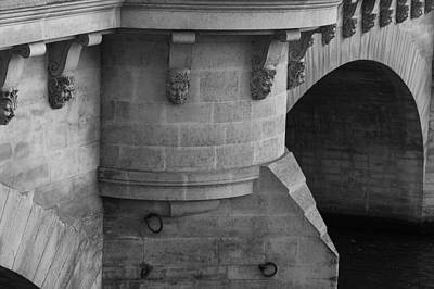 Poster featuring the photograph Pont Neuf by Glenn DiPaola