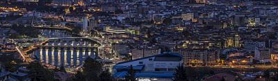 Pontevedra Panorama From A Caeira Poster