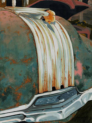 Pontiac Chief Poster by John Wyckoff