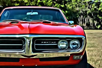 Pontiac Firebird Coupe 1968 Poster
