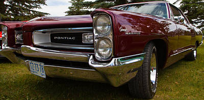 Poster featuring the photograph Pontiac Grande Parisienne by Mick Flynn