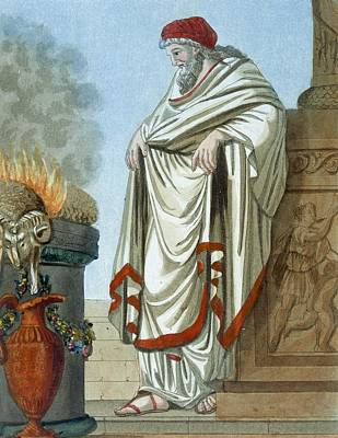 Pontifex Maximus, Illustration Poster by Jacques Grasset de Saint-Sauveur