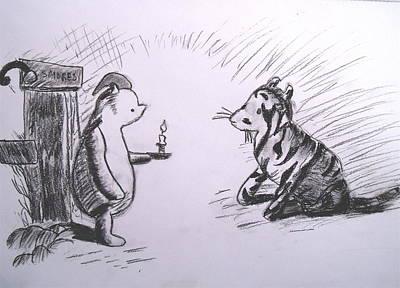 Pooh And Tigger Poster