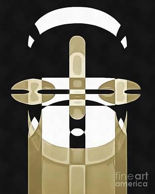 Pop Art Person 1 Poster by Edward Fielding