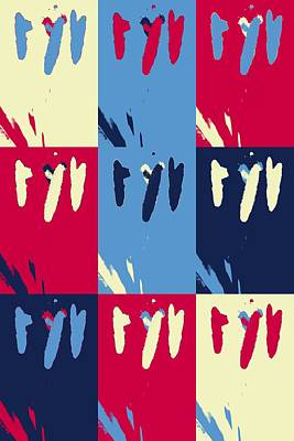 Pop Art Pistils Poster by Tommytechno Sweden