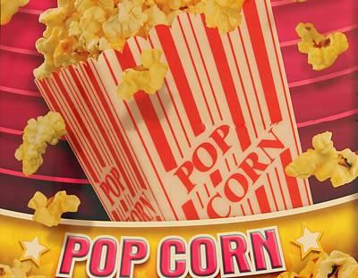 Pop Corn Poster by Cynthia Guinn