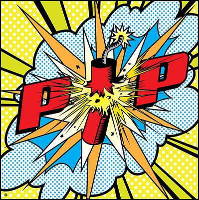 Pop Firecracker Poster
