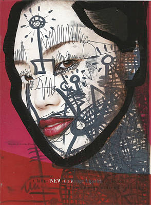 Pop-graffiti Tattoo Model Poster