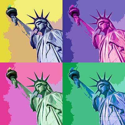 Pop Liberty Poster