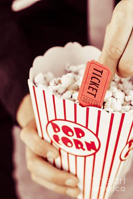 Popcorn Box Office Poster