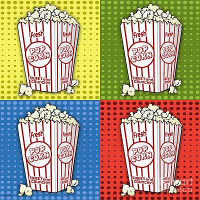 Popcorn Pop Art-jp2375 Poster