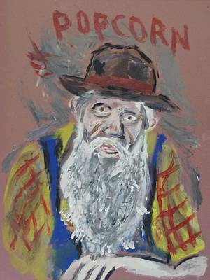 Popcorn Sutton    Poster by Eric Cunningham