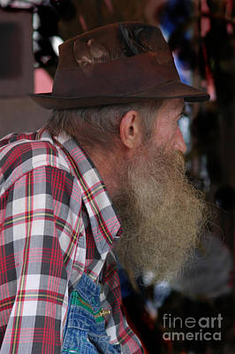 Popcorn Sutton Profile Poster by Larry Wright