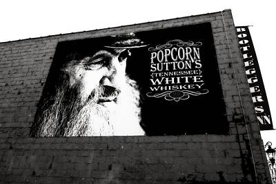 Popcorn Sutton's Tennessee White Whiskey Poster by Dan Sproul