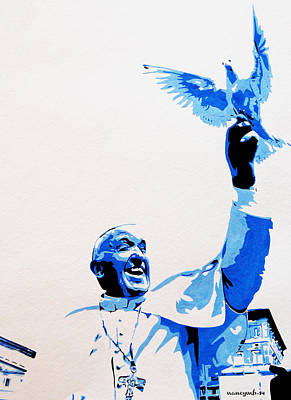 Pope Francis Poster
