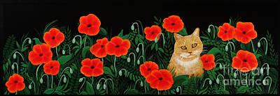 Poppy Cat Poster