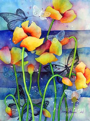 Poppy Field Poster by Hailey E Herrera