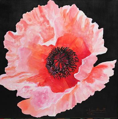 Poppy Power Poster by M Diane Bonaparte
