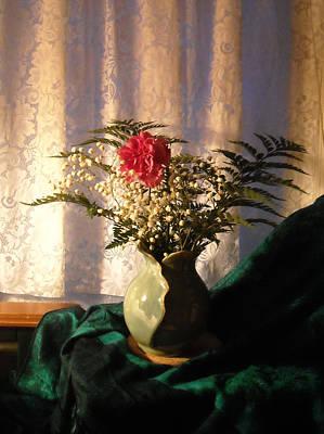 Porcelain Petal Vase 4 In Still Life Poster