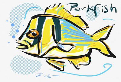 Porkfish Poster by Brett LaGue