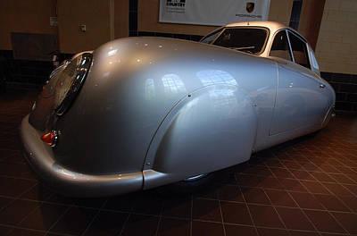 Poster featuring the photograph Porsche 1949 356 S L Gmund Coupe by John Schneider