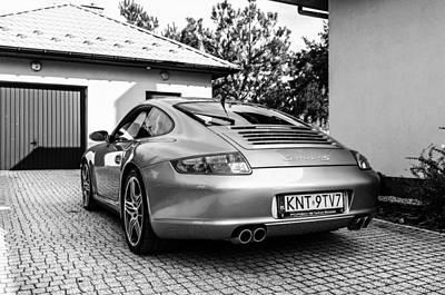 Porsche 911 Carrera 4s Poster