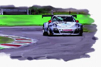 Porsche 911 Gt3 Poster by Roger Lighterness