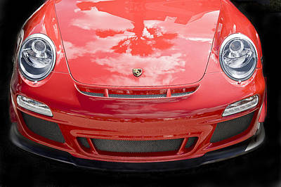 Porsche 911 Gt3 Rs 4.0 Poster by Rich Franco