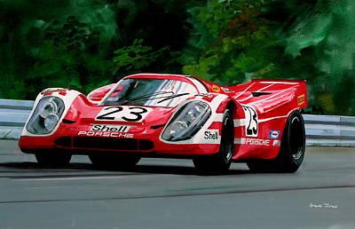 Porsche 917  Le Man Winner Poster