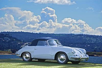Porsche Cabriolet Poster