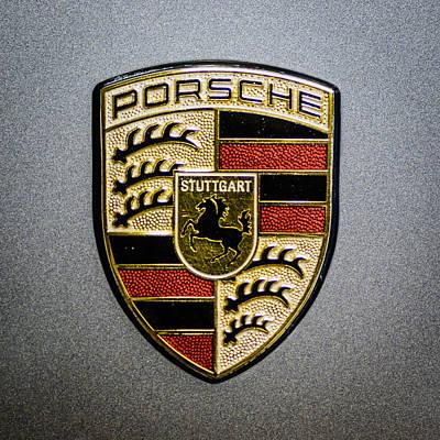 Porsche Poster by Randy Scherkenbach