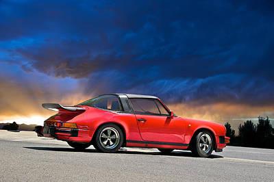 Porsche Targa Poster