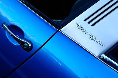 Porsche Targa Emblem Poster