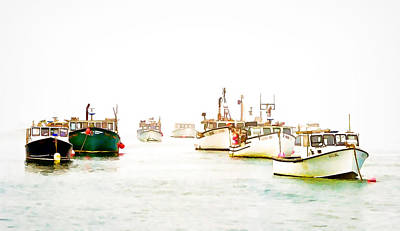 Port Bound  Chatham Cape Cod Photo Art Poster