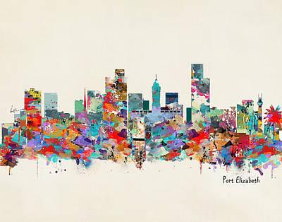 Port Elizabeth South Africa Poster by Bri B