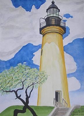 Port Isabel Lighthouse Poster