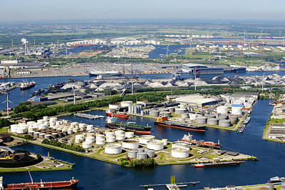 Port Of Amsterdam, Amsterdam Poster