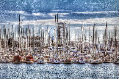 Port Of Barcelona 2 Poster