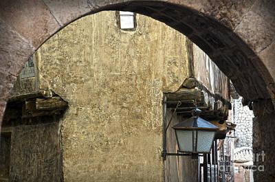 Portal De Molina And Casa De La Julianeta Poster