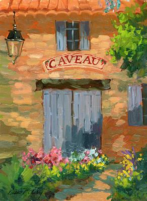 Portes Des Caveau Poster by Diane McClary