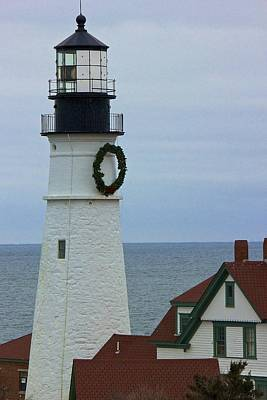 Poster featuring the photograph Portland Head Lighthouse by Amazing Jules