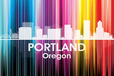 Portland Or 2 Poster