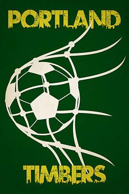 Portland Timbers Goal Poster by Joe Hamilton