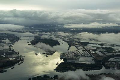 Portland Waterways Poster by John Daly