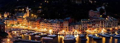Portofino Evening Poster
