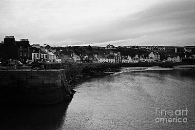 Portpatrick Village And Breakwater Scotland Uk Poster