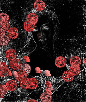 Portrait In Black - S0201b Poster