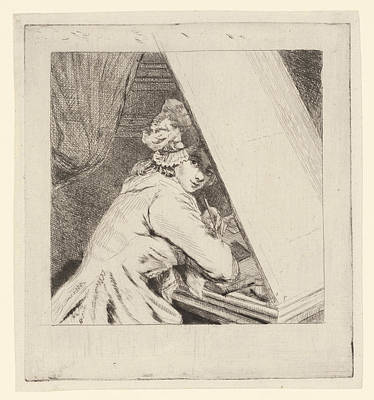 Portrait Marie-lambertine Coclers, Louis Bernard Coclers Poster